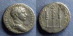 Ancient Coins - Bostra Arabia, Trajan 98-117, Tridrachm