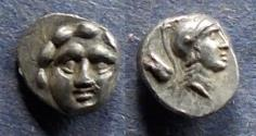 Ancient Coins - Pisidia, Selge 350-300 BC, Trihemiobol