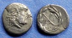 Ancient Coins - Achaean League, Patrai 175-168 BC, Hemidrachm