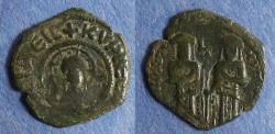 Ancient Coins - Byzantine Empire, Andronicus II & Michael IX 1295-1320, Assarion