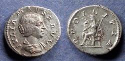 Ancient Coins - Roman Empire, Julia Maesa 218-222, Denarius
