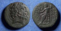 Ancient Coins - Seleucis, Antioch 92-76 BC, Bronze AE18