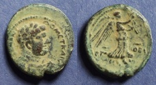 Ancient Coins - Judaea, Domitian & Agrippa II Struck 83/4 AD, AE23