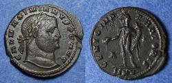 Ancient Coins - Roman Empire, Galerius 305-311, Follis