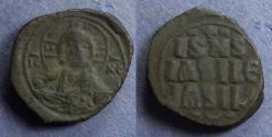 Ancient Coins - Byzantine Empire, Anonymous Class E (Constantine X) 1059-67, Follis