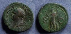 Ancient Coins - Roman Empire, Domitian (as Caesar) 69-81, Aes