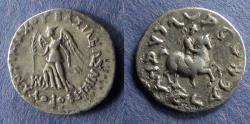 Ancient Coins - Bactrian Kingdom, Antimachos 174-165 BC, Drachm