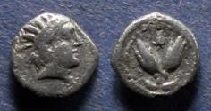 Ancient Coins - Islands off of Caria, Rhodes 275-250 BC, Diobol