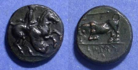 Ancient Coins - Krannon, Thessaly 400-344 BC, AE14