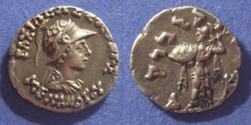 Ancient Coins - Bactria, Menander 165-130 BC, Drachm