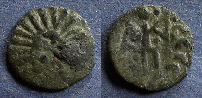 World Coins - Goths, Taman Peninsula Circa 300 AD, Denarius
