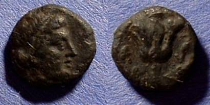 Ancient Coins - Rhodes - AE11 Circa 320BC