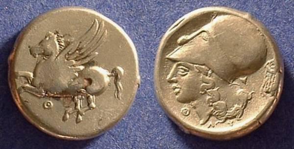 Ancient Coins - Thyrrheion Akarnania Stater  350-250 BC