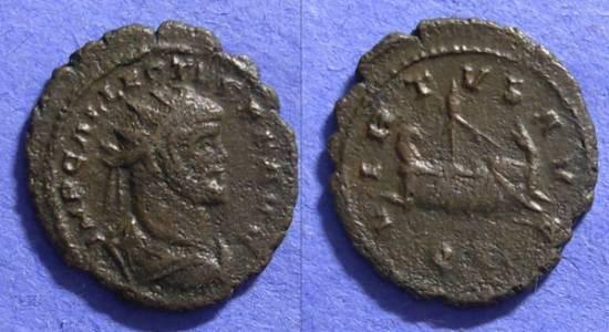 Ancient Coins - Allectus – British Sucessionist emperor – 293-296 – Quinarius