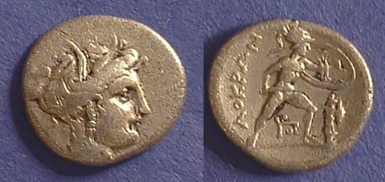 Ancient Coins - Lokris - quarter stater  369-338 BC