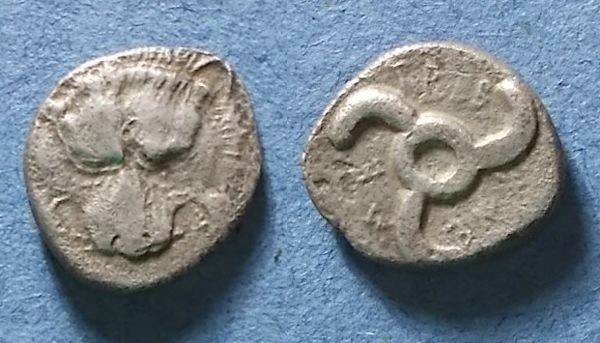 Ancient Coins - Dynasts of Lycia, Trbbenimi 380-370 BC, Tetrobol