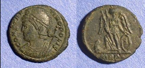 Ancient Coins - Constantinople commemorative AE3 330AD