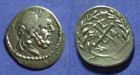Ancient Coins - Achaean League Elis 86-50 BC Hemidrachm