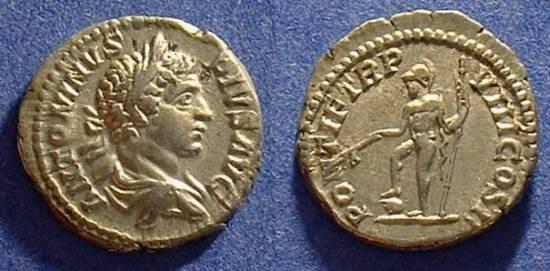 Ancient Coins - Caracalla 193-217AD Denarius