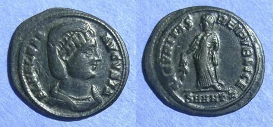 Ancient Coins - Roman Empire, Helena d. 330, AE3