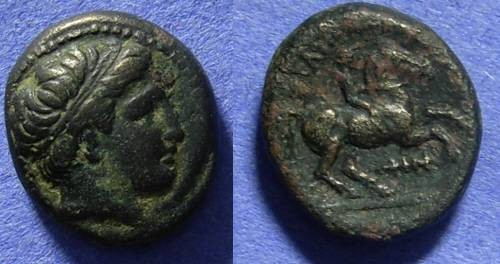 Ancient Coins - Macedonian Kingdom: Philip II 359-336BC AE16