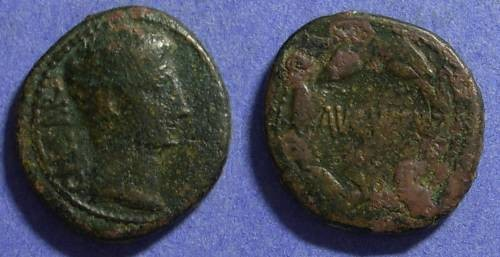 Ancient Coins - Augustus 27BC – 14AD,  Aes of Asia Minor