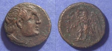 Ancient Coins - Egypt, Ptolemy II & Magas circa 270 BC, AE17