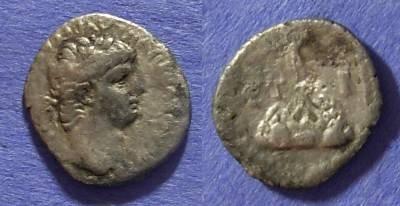 Ancient Coins - Roman Caesarea Claudius 41-54 Hemidrachm
