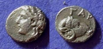 Ancient Coins - Gargara Troas Hemiobol 420-400 BC