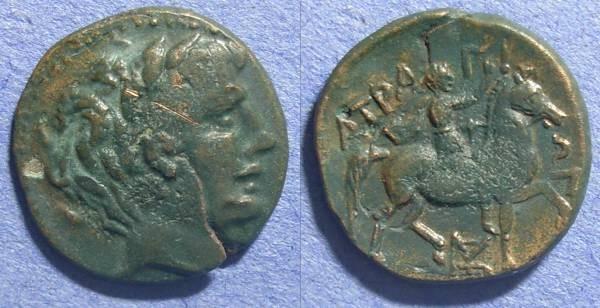 Ancient Coins - Thessaly, Atrax Circa 250 BC, AE19