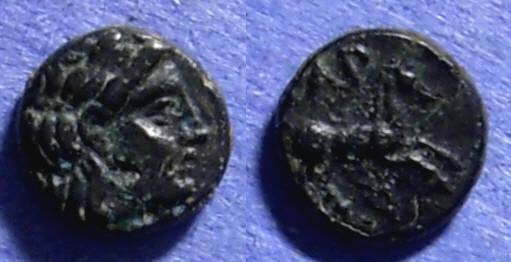 Ancient Coins - Gargara, Troas Circa 350 BC, AE8