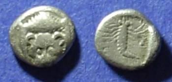 Ancient Coins - Mylasa, Caria Circa 400 BC, Hemiobol