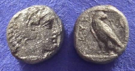 Ancient Coins - Macedonian Kingdom: Amyntas III 393-369BC – Trihemiobol