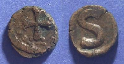 Ancient Coins - Byzantine Empire, Heraclius 610-641, 6 Nummi