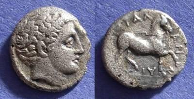 Ancient Coins - Phalanna, Thessaly 400-344 BC, Hemidrachm