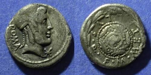 Ancient Coins - Roman Republic, M. Caecilius Qf Qn Metellus 82-80 BC, Denarius