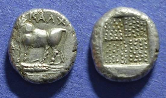 Ancient Coins - Kalchedon, Bithynia 367-340 BC, Drachm