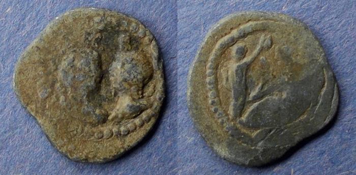 Ancient Coins - Egypt, Antinoopolis 2nd-3rd Century AD, Tessera