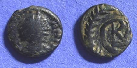 Ancient Coins - Vandals - Gelimer 530-4AD - Nummis of Carthage