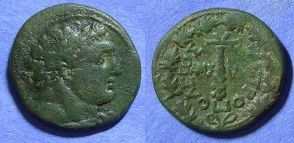 Ancient Coins - Phoenicia, Tyre 115- 116, AE25