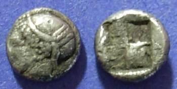 Ancient Coins - Ionia, Phokaia Circa 550 BC, Trihemiobol