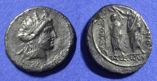 Ancient Coins - Roman Republic -  Aemilia 24 Denairus  58 BC