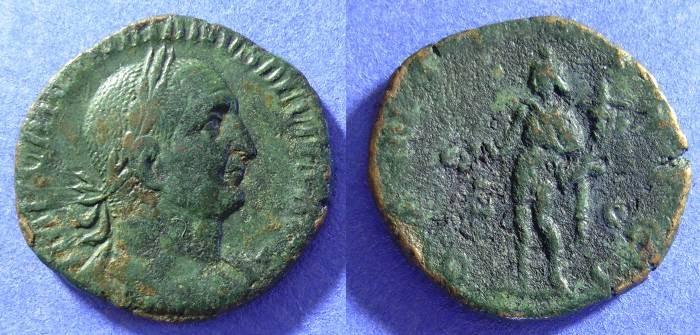 Ancient Coins - Trajan Decius - 249-251AD - Sestertius