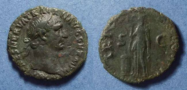 Ancient Coins - Roman Empire, Trajan 98-117, As