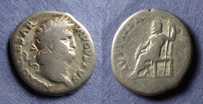 Ancient Coins - Roman Empire, Nero 54-68, Denarius