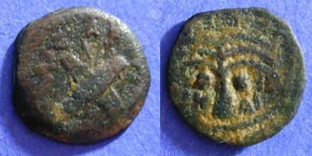 Ancient Coins - Judaea - Antonius Felix procurator 52-60AD AE17