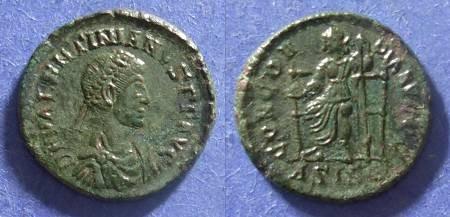 Ancient Coins - Roman Empire, Valentinian I 364-375 AD, AE3