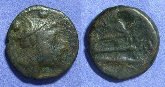 Ancient Coins - Roman Republic Sextans 211-208 BC
