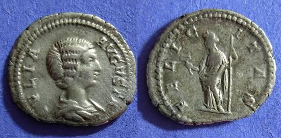 Ancient Coins - Julia Domna - 193-217AD denarius