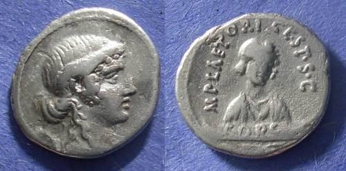 Ancient Coins - Roman Republic, M Plaetorius M f Cestianus 69 BC, Denarius